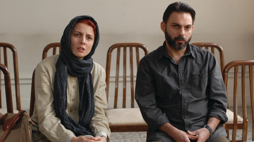 A Separation: Simin (Leila Hatami) and Nader (Peyman Moaadi)