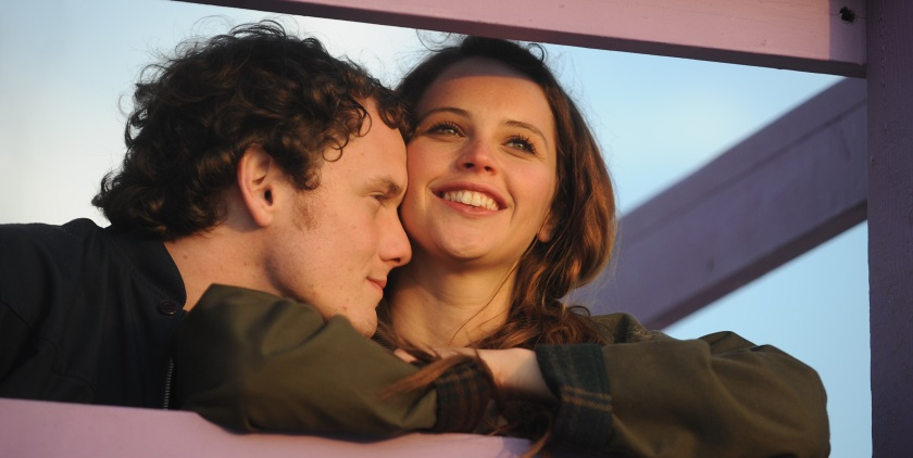 Like Crazy: Jacob (Anton Yelchin) and Anna (Felicity Jones)