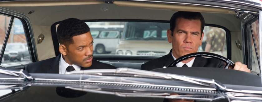 Men in Black 3: Agent J (Will Smith) and Agent K (Josh Brolin)