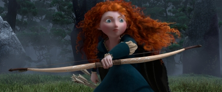 Brave: Merida (voice by Kelly Macdonald)