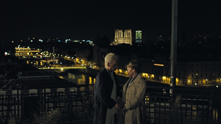 Holy Motors: Monsieur Oscar (Denis Lavant) and Eva Grace (Kylie Minogue)