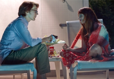 Calvin Weir-Fields (Paul Dano) and Ruby Sparks (Zoe Kazan)