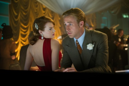 Gangster Squad: Grace Faraday (Emma Stone) and Sergeant Jerry Wooters (Ryan Gosling)