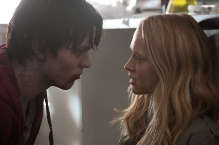 Warm Bodies: R (Nicholas Hoult) and Julie (Teresa Palmer)