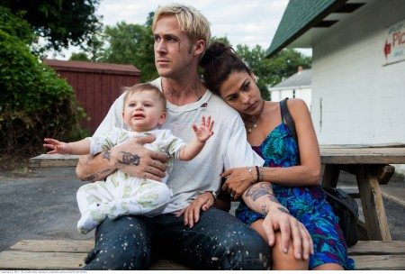 The Place Beyond the Pines: Luke (Ryan Gosling) and Romina (Eva Mendes)