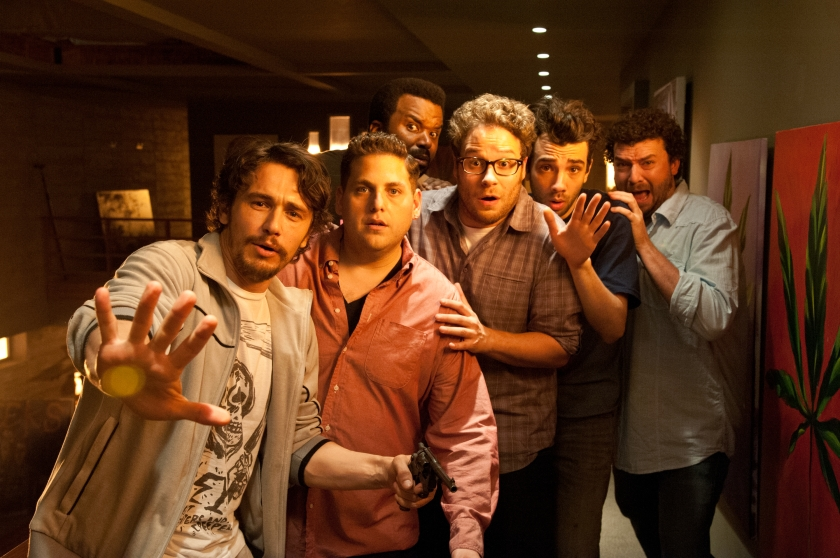 This Is the End: James Franco, Jonah Hill, Craig Robinson, Seth Rogen, Jay Baruchel and Danny McBride
