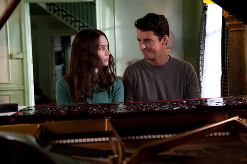 Stoker: India Stoker (Mia Wasikowska) and Charlie Stoker (Matthew Goode)