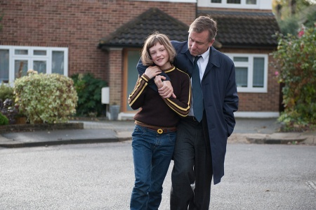 Broken: Skunk (Eloise Laurence) and Archie (Tim Roth)