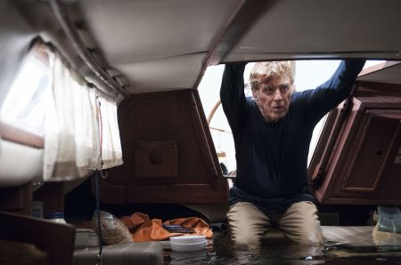 Robert Redford as Our Man in All Is Lost