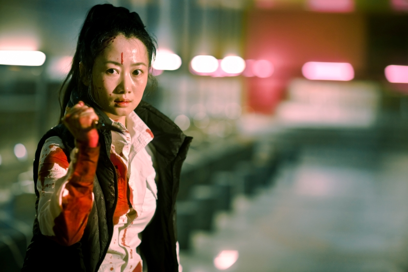 Zhao Tao as Xiao Yu in A Touch of Sin