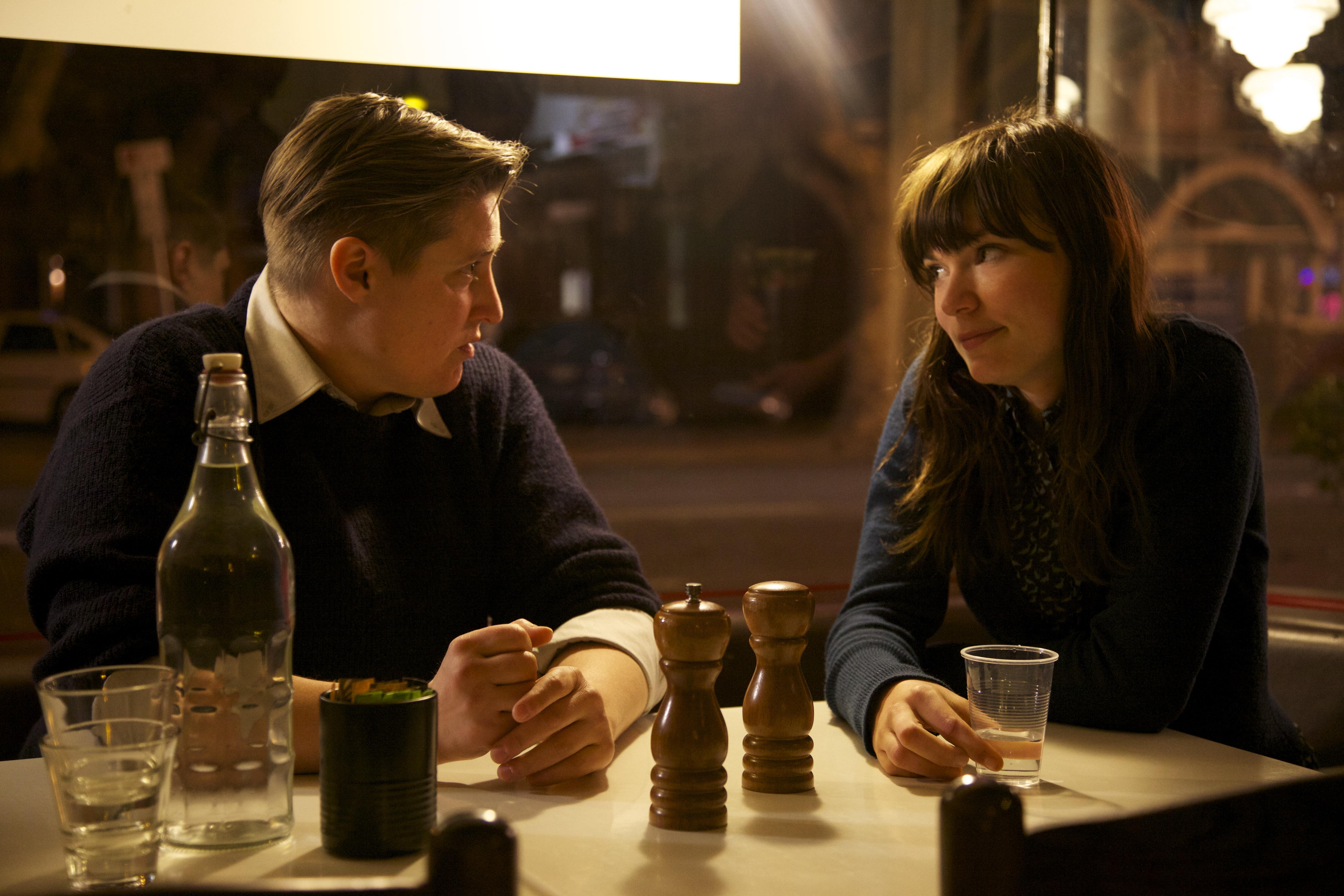 Del Herbert-Jane as James and Tilda Cobham-Hervey as Billie in 52 Tuesdays
