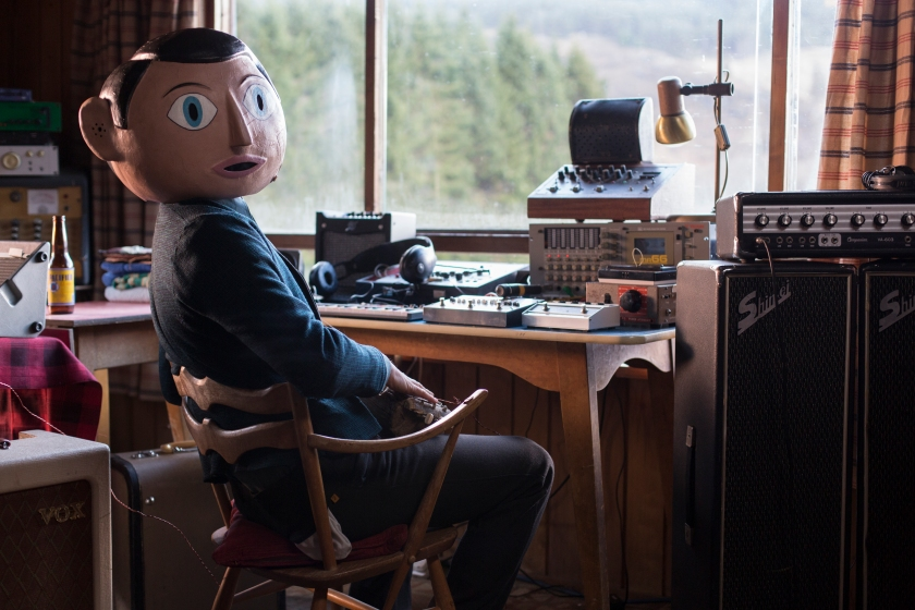Michael Fassbender as Frank in Frank