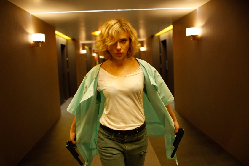 Scarlett Johansson as Lucy in Lucy