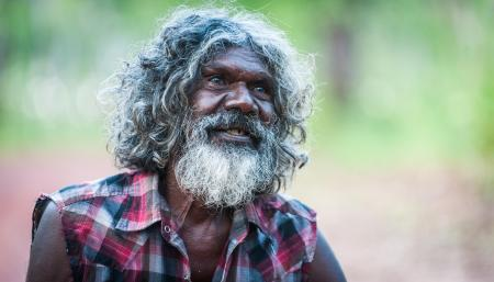 David Gulpilil as Charlie in Charlie's Country