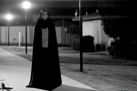 Sheila Vand as The Girl in A Girl Walks Home Alone at Night