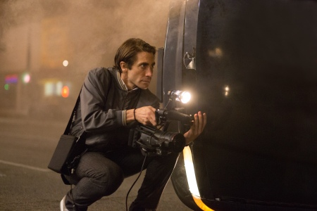 Jake Gyllenhaal as Louis Bloom in Nightcrawler
