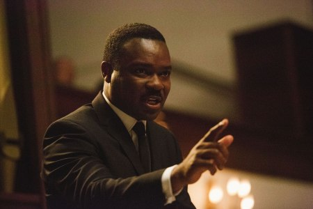 David Oyelowo as Martin Luther King Jr in Selma