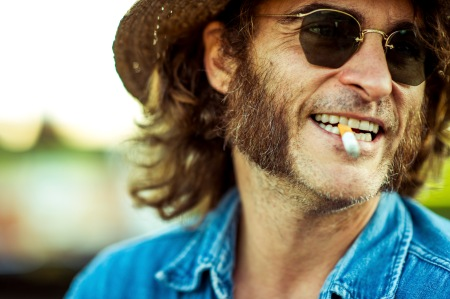 Joaquin Phoenix as Larry 'Doc' Sportello in Inherent Vice