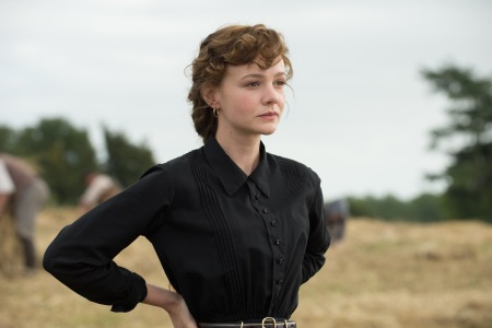 Carey Mulligan as Bathsheba Everdene in Far from the Madding Crowd