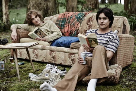 Ryan Corr as Timothy Conigrave and Craig Stott as John Caleo in Holding the Man