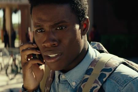 Shameik Moore as Malcolm Adekanbi in Dope