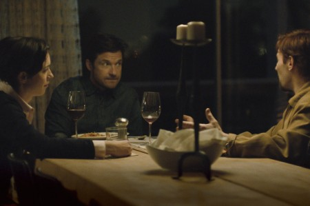Rebecca Hall as Robyn Callen, Jason Bateman as Simon Callen and Joel Edgerton as Gordon