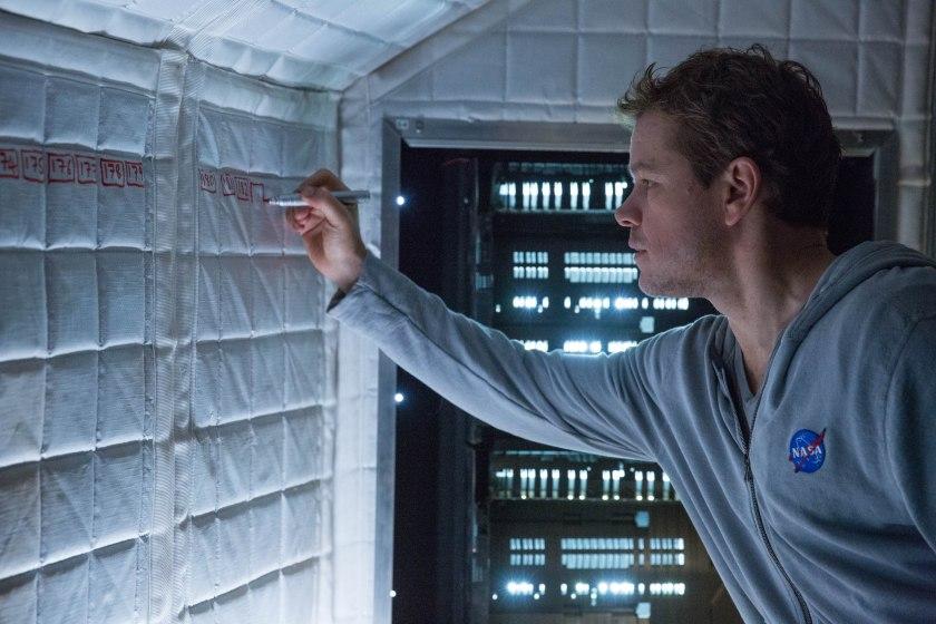 Matt Damon as Mark Watney in The Martian